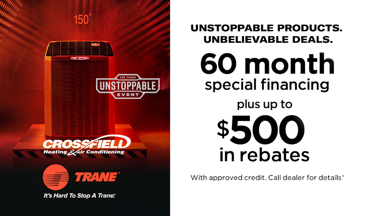 APril promotion for Crossfield Heating